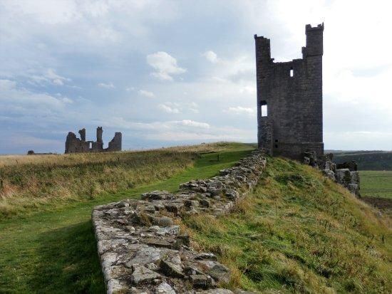 Craster, UK: Inside the castle.