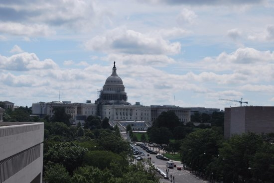 Newseum: View from the Museum Observation Desk