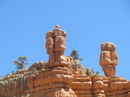 Panguitch, UT: hoodoos at Red Canyon