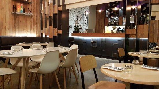 Beautiful dining area picture of tahi wellington for Beautiful dining area