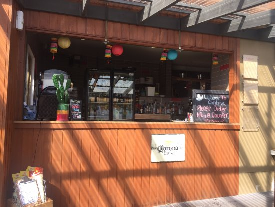 Shellharbour, Austrália: The Mexican Cantina downstairs