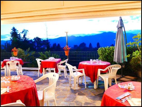 Ameno, Włochy: La terrazza dell'hotel