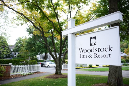 Woodstock Inn and Resort: easy to find