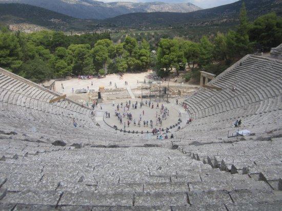 Epidavros, Griechenland: Teatro de Epidauro