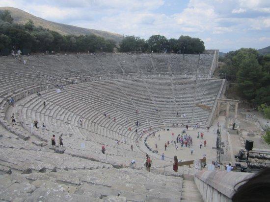 Epidavros, Griechenland: Teatro Epidauro, Argolida.