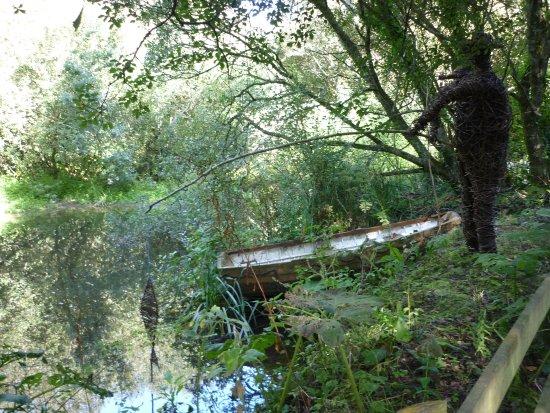 Veryan, UK: The willow fisherman