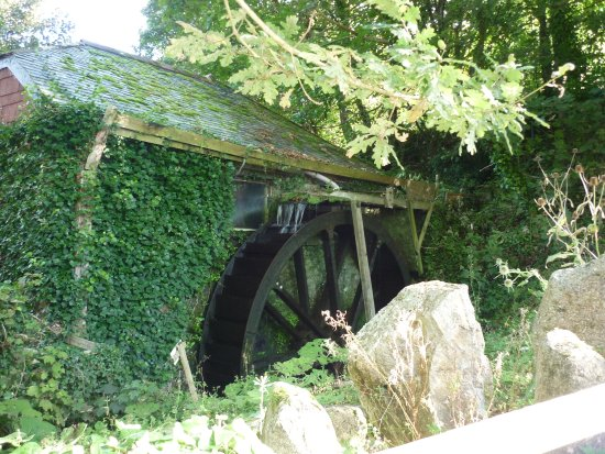 Veryan, UK: Mill wheel