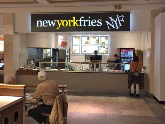 New York Fries - RioCan Georgian Mall Food Court, Barrie ON