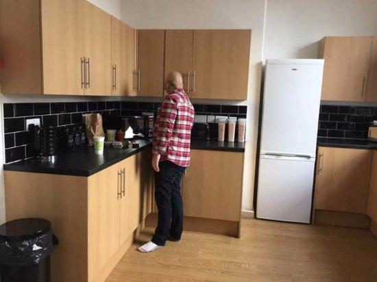 Barrow-in-Furness, UK: Kitchen