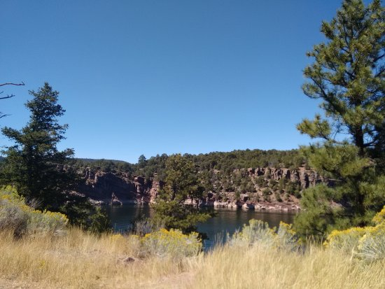 ‪‪Pinedale‬, ‪Wyoming‬: Lake at Flaming Gorge‬