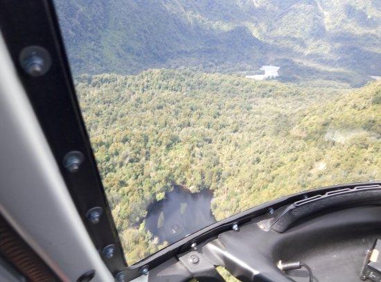Franz Josef, New Zealand: helicopter