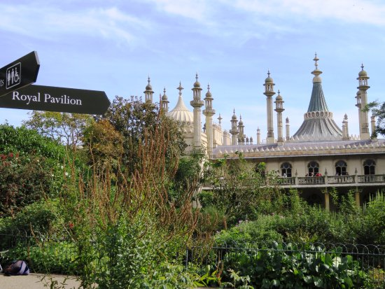 Brighton's Royal Pavilion - A great attraction (24/Sept/16).