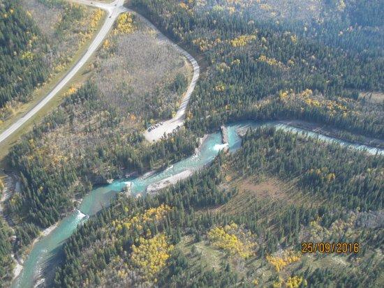 Kananaskis Country, Kanada: Helicopter ride
