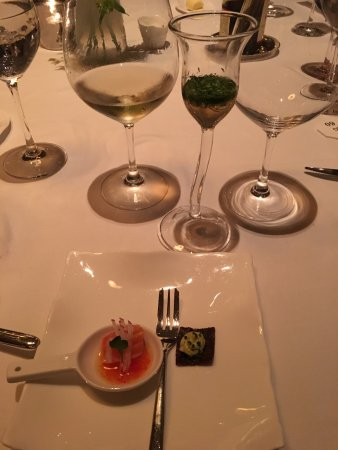 "Jean Georges: Oh yeah, could have done without the ""herb tea"" with the Amuse bouche. Had no flavor. Everything"