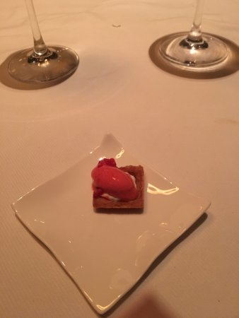 Jean Georges: Sorbet palate cleanser