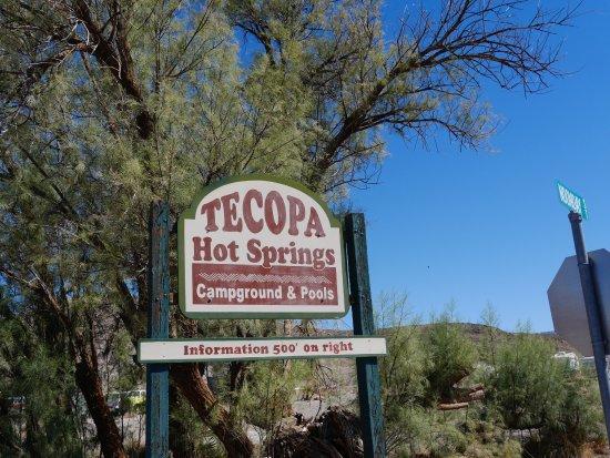 Tecopa, CA: テコパサイン