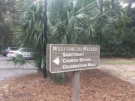 Saint Simons Island, จอร์เจีย: Wesley United Methodist Church
