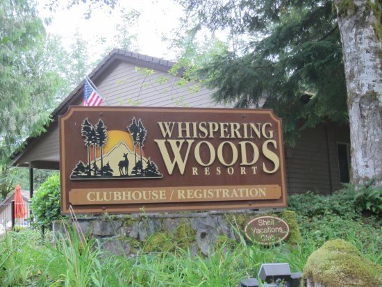 Whispering Woods Resort: Entrance to the Timeshare Section