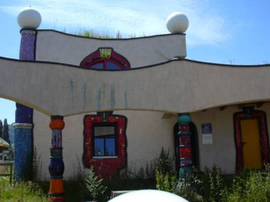 Staad, Switzerland: Hundertwasser Architektur