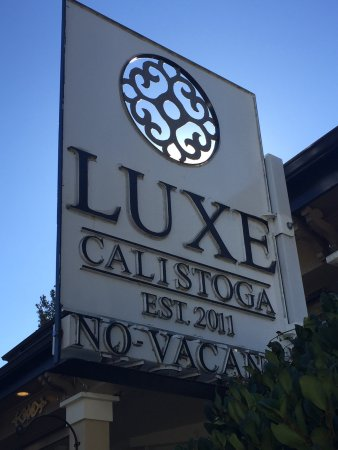 Luxe Calistoga: This was the best hotel/bed-and-breakfast we have ever stayed in! The service was exemplary! The