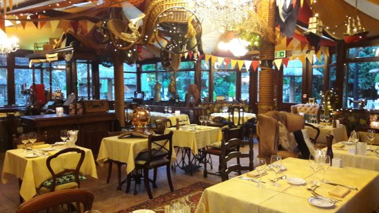 Asenby, UK : large dinning room