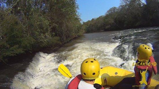 Jaguariaiva, PR: Rafting Encanadão