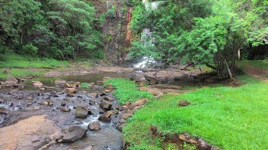 Brotas, SP: Cachoeira