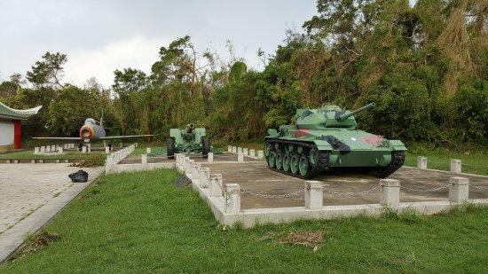 Kinmen, Taiwán: 退役軍車展示