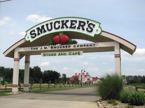 Orrville, Огайо: J M Smucker Company, Orrvile Ohio
