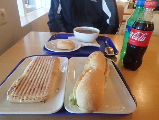 Mosfellsbaer, Island: Our $62 CAD meal!
