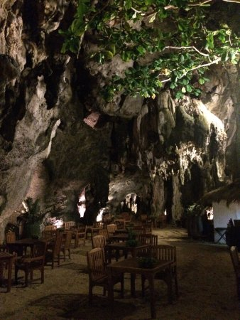 Rayavadee Resort: Restaurante Grotto