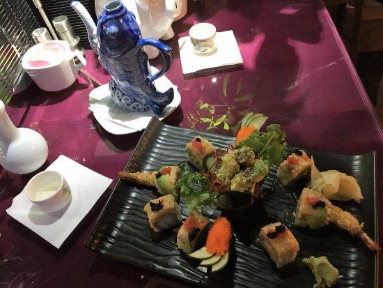 Herndon, VA: Yummy sushi and hot sake.