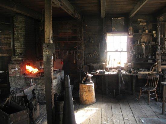 Sherbrooke, Canadá: Blacksmith Shop