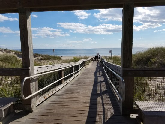 Westport Point, MA: The walkway