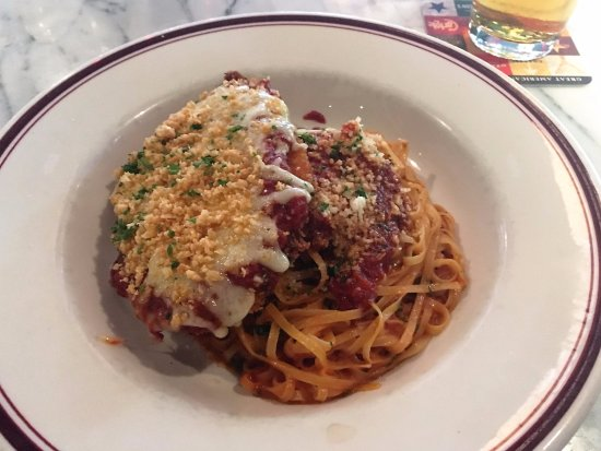Fairfax, VA: Best Chicken Parm ever!