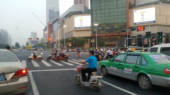 Nanning, Çin: Busy place