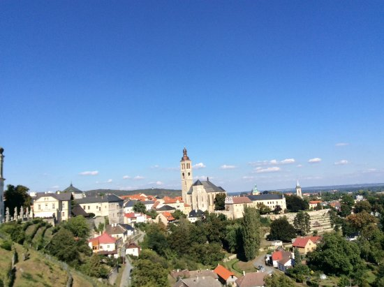 A good view of Kutna Hora skyline