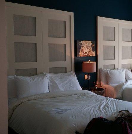 Mercer Hall Inn: Comfy beds