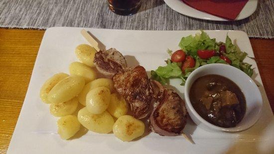Nitra, Eslovaquia: grilled pork tenderloin