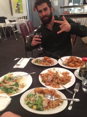 Bellingen, Avustralya: This was one happy diner