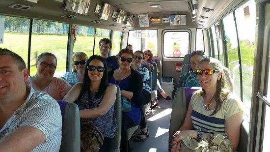 Pokolbin, Australia: Passengers aboard iHop