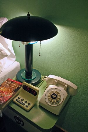 Holiday Music Motel: Bedside Table