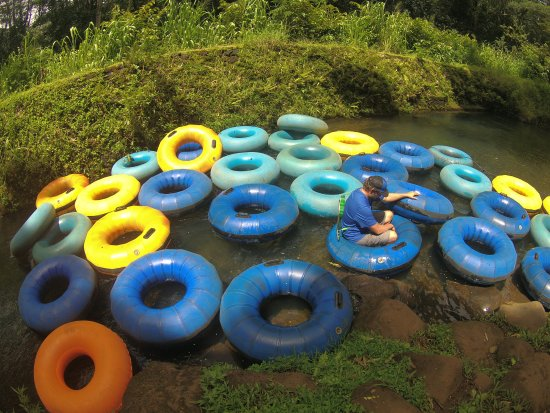 Hanamaulu, ฮาวาย: Start of the float