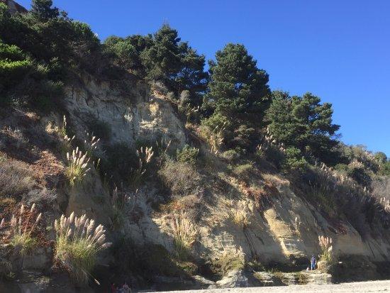 Bolinas, Kaliforniya: The cliff is lovely.