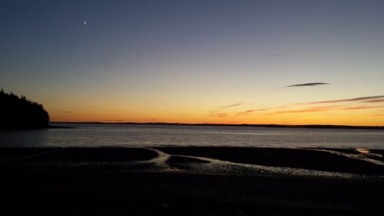 Castine, ME: Sunset at the Back Shore