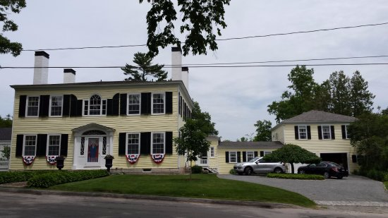 Castine, ME: Stately home on Main Street