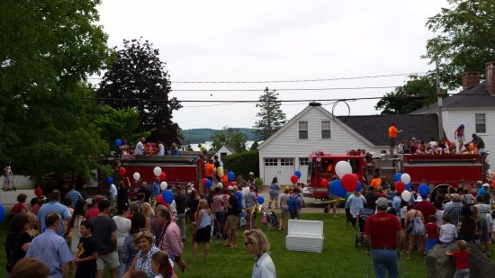 Castine, ME: Fourth of July on the Town Common