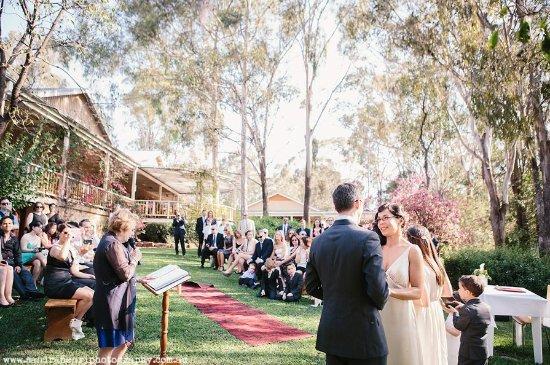 Mount View, Austrália: Weddings at Briar Ridge