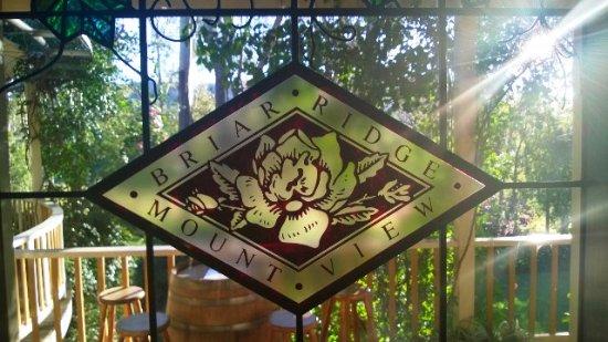Mount View, Austrália: Our cellar door window