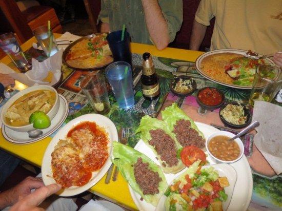 Dinner at El Tapatio